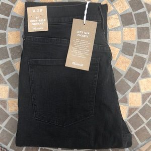 NWT Madewell Berkeley 9 in button front jeans